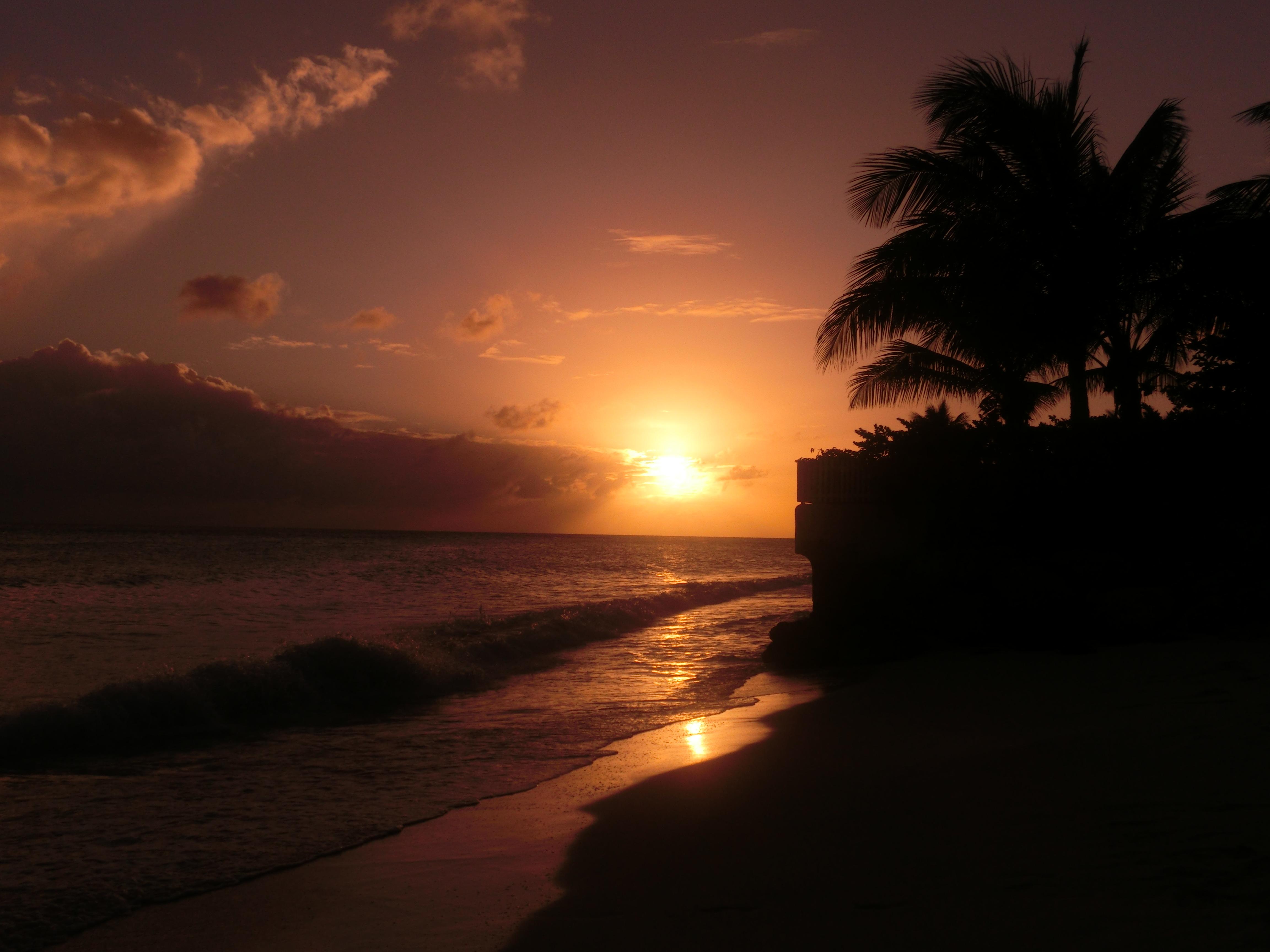 Sonnenuntergang Barbados