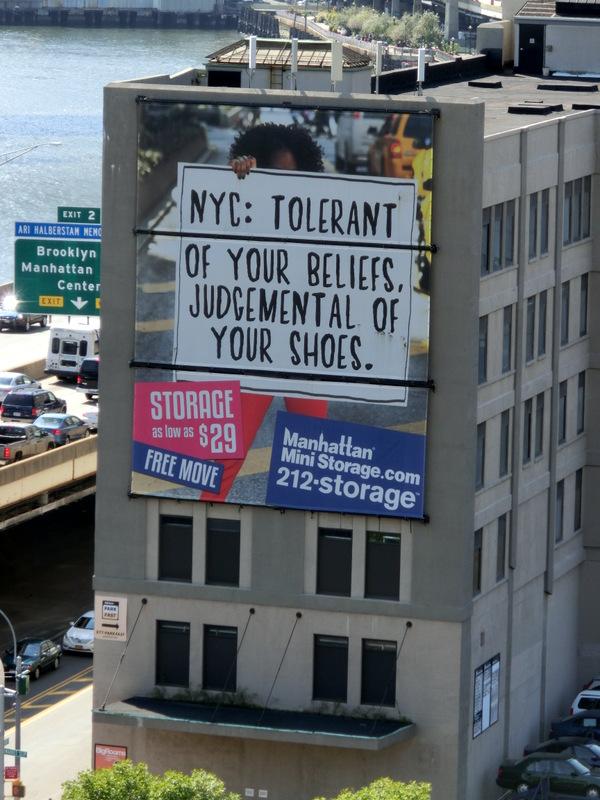 NYC Werbung