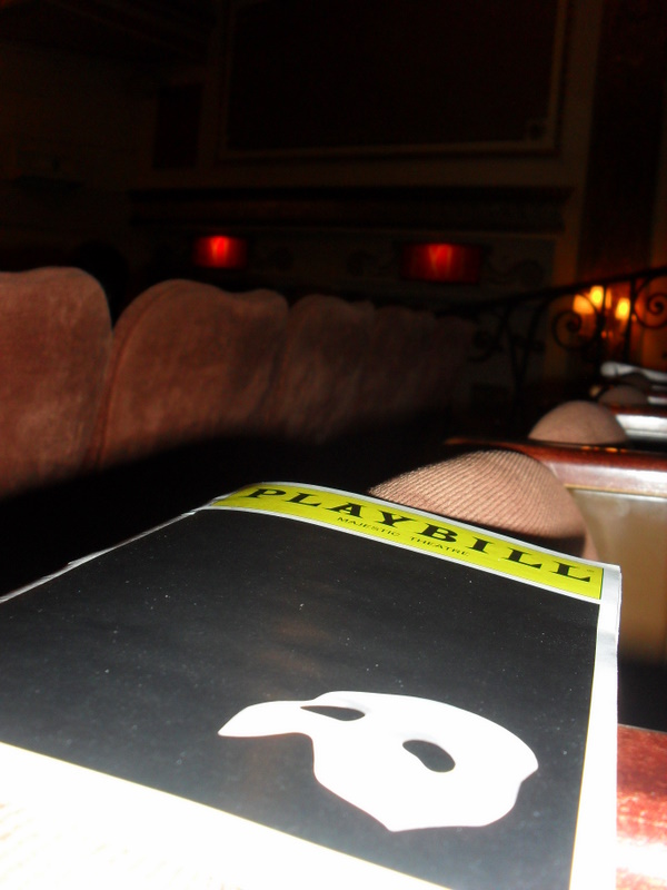 Phantom of the Opera am Broadway New York City