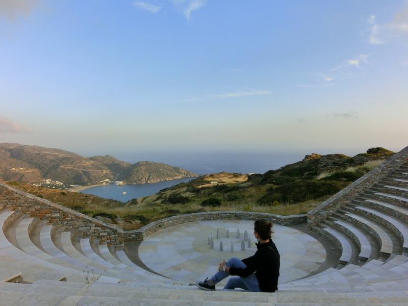 Amphitheater auf Ios