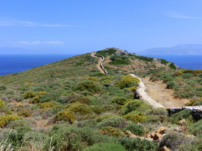 Weg zum Homers Tomb
