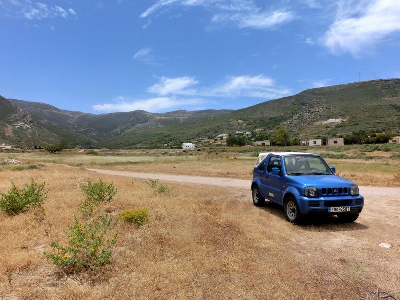 Hinterland auf Ios in Griechenland