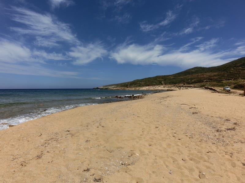Strand auf Ios in Griechenland