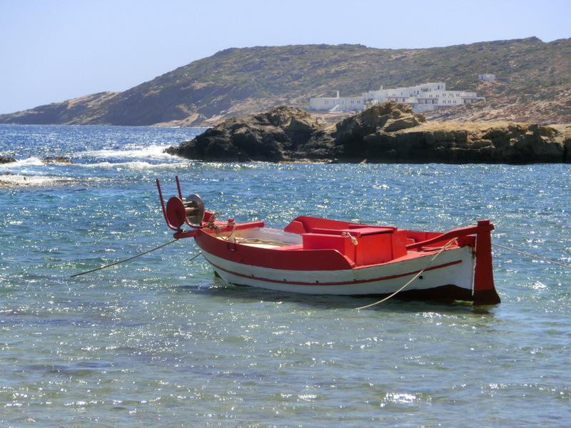 Manganari auf Ios, Griechenland