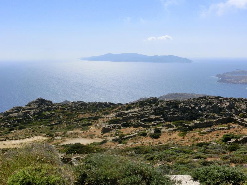 Ausblick über Ios in Griechenland