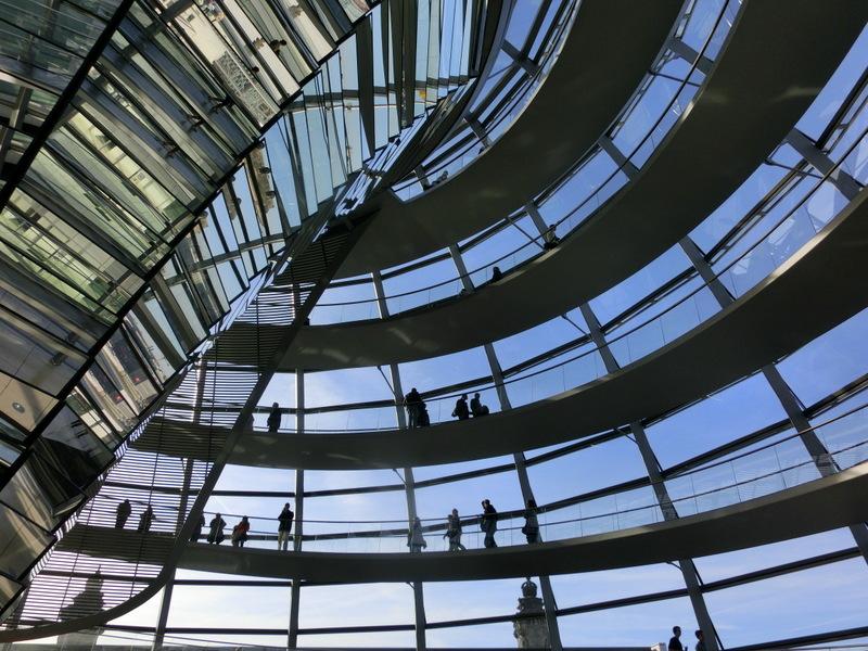 Kuppel im Reichstagsgebäude