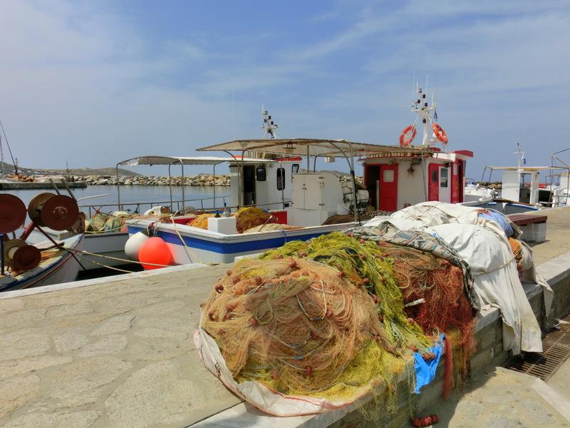 Fischerboot in Naoussa
