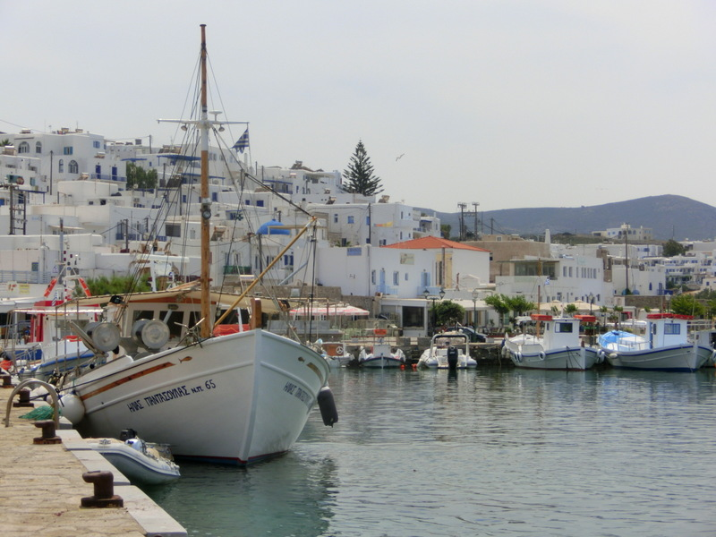Hafen von Naoussa