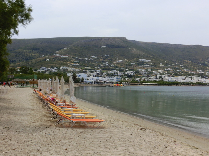 Strand bei Parikia