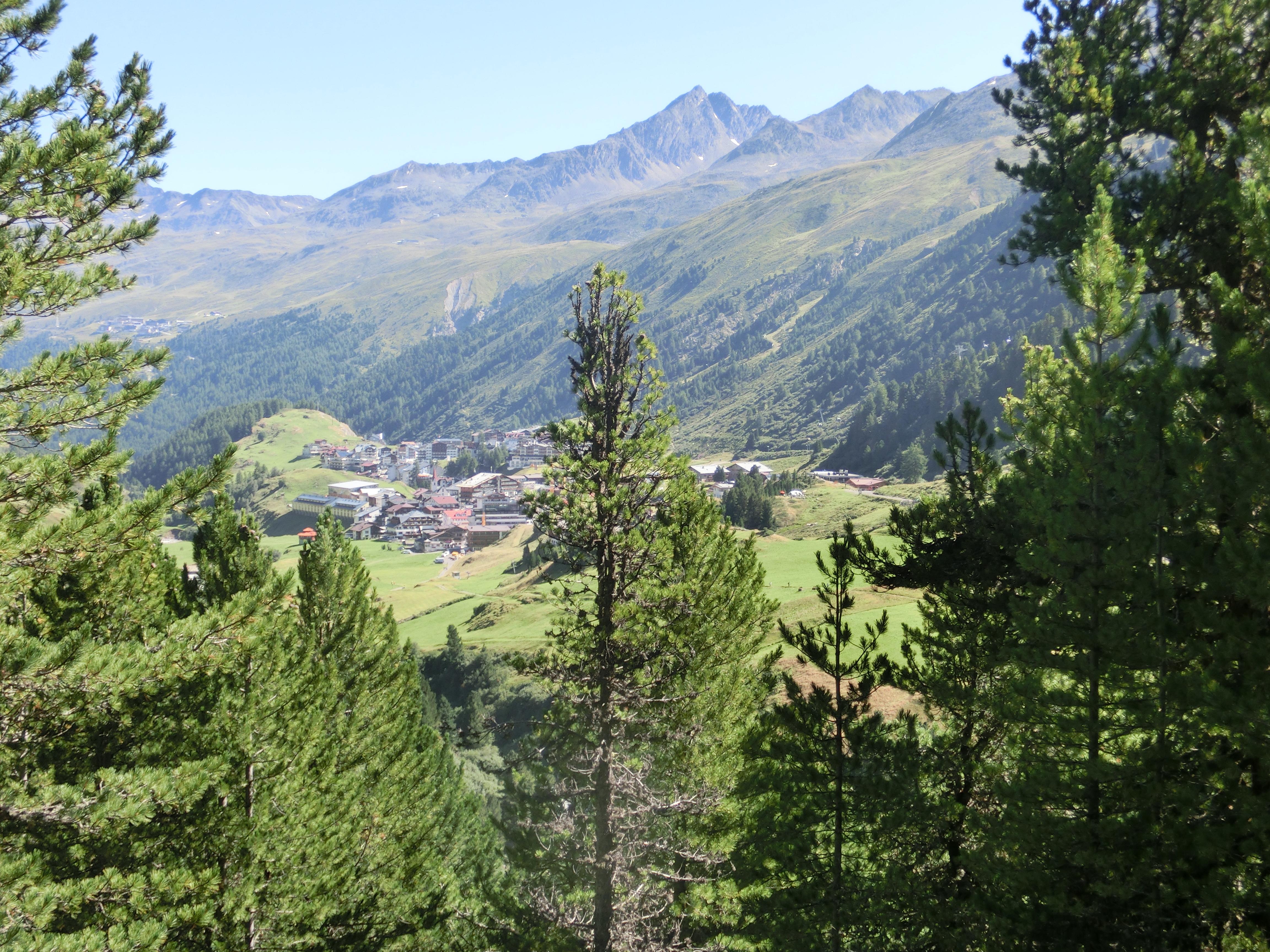 Bergpanorama Obergurgl
