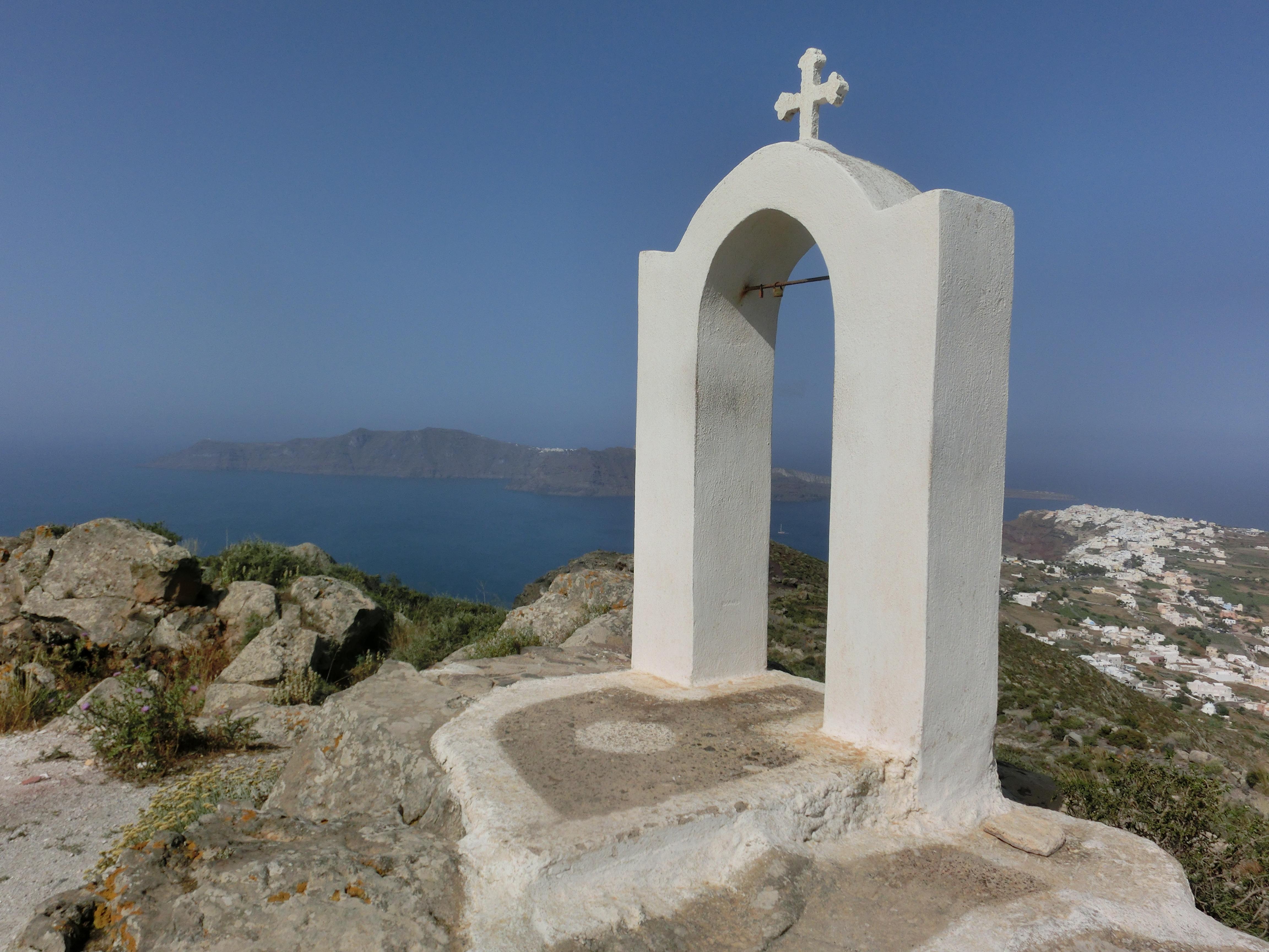 Kraterwanderung Santorin