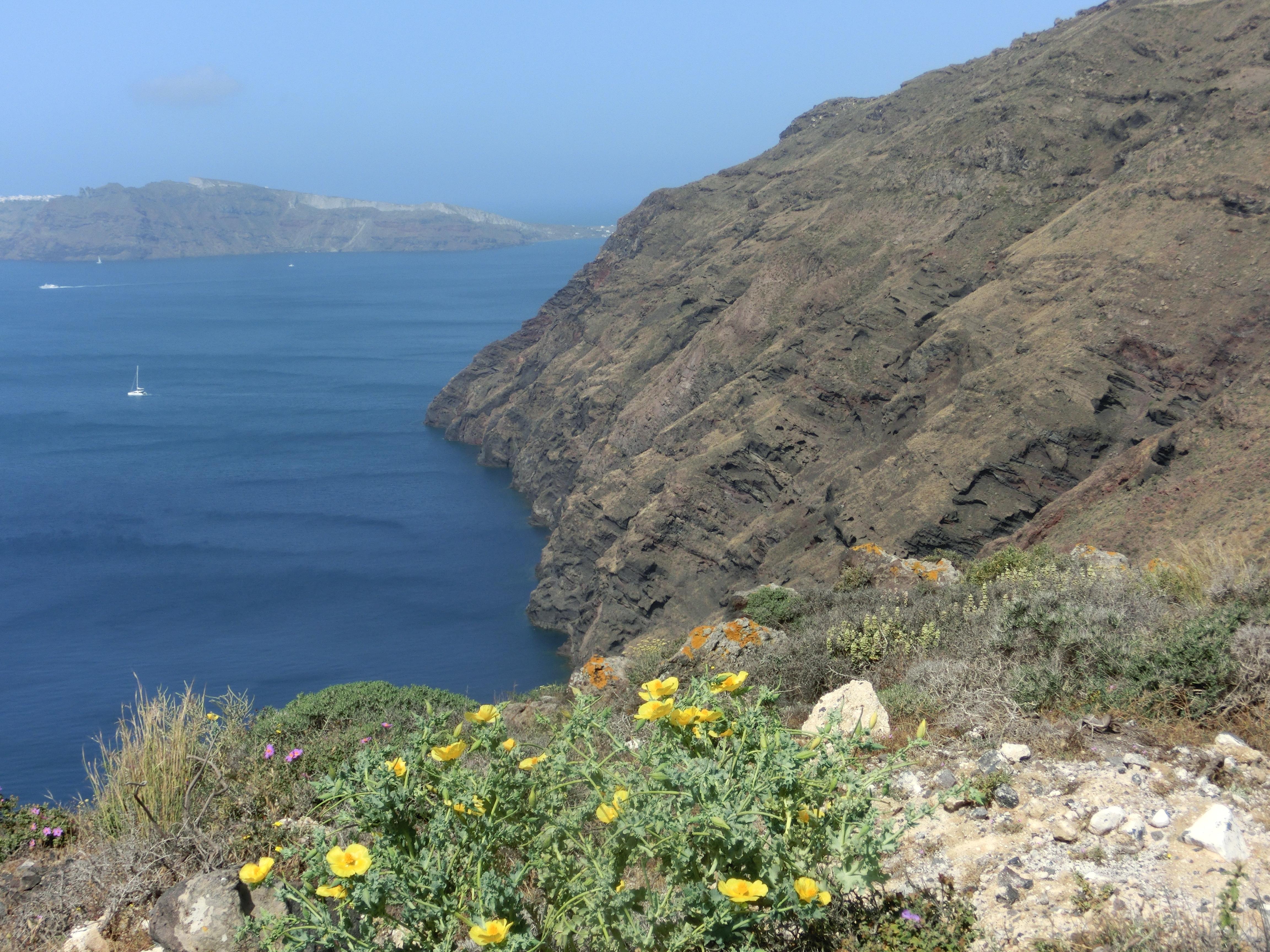 Santorin Kraterwanderung