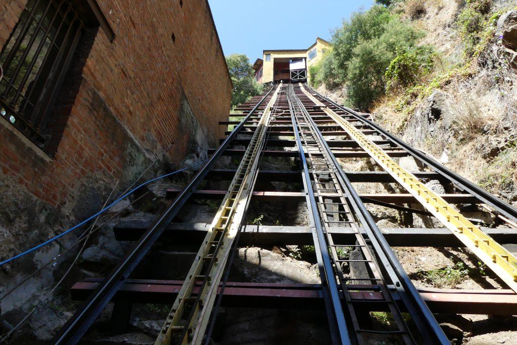 Aufzug in Valparaíso
