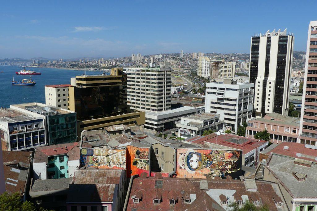 Ausblick Valparaíso