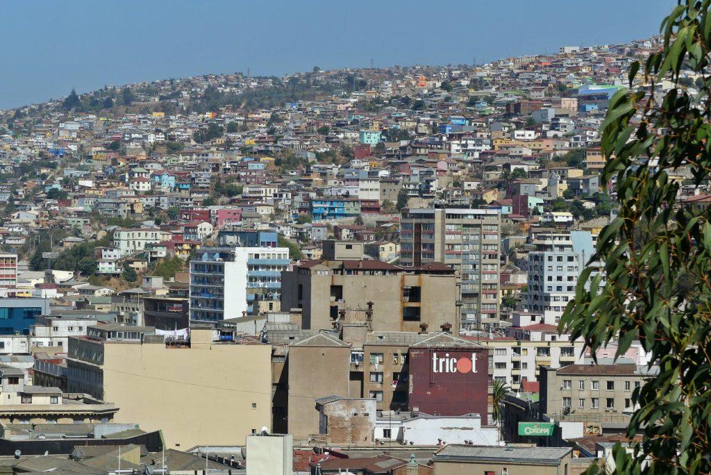 Häuser von Valparaíso
