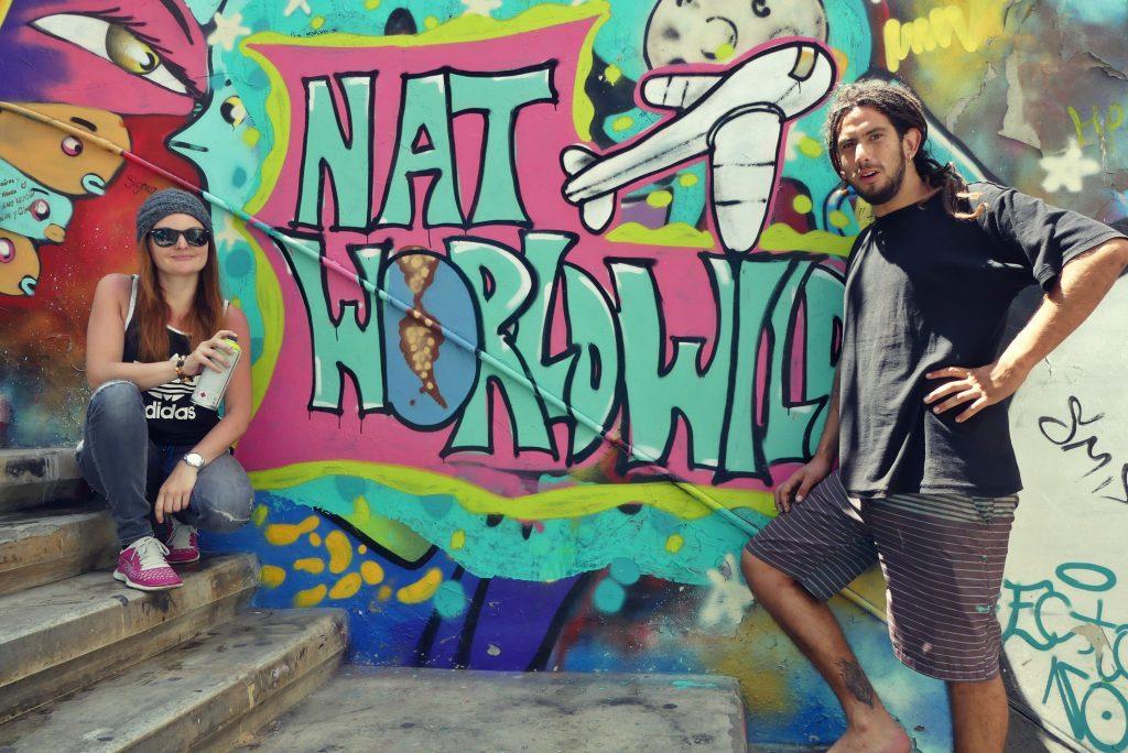 Mein erstes eigenes Grafitti!