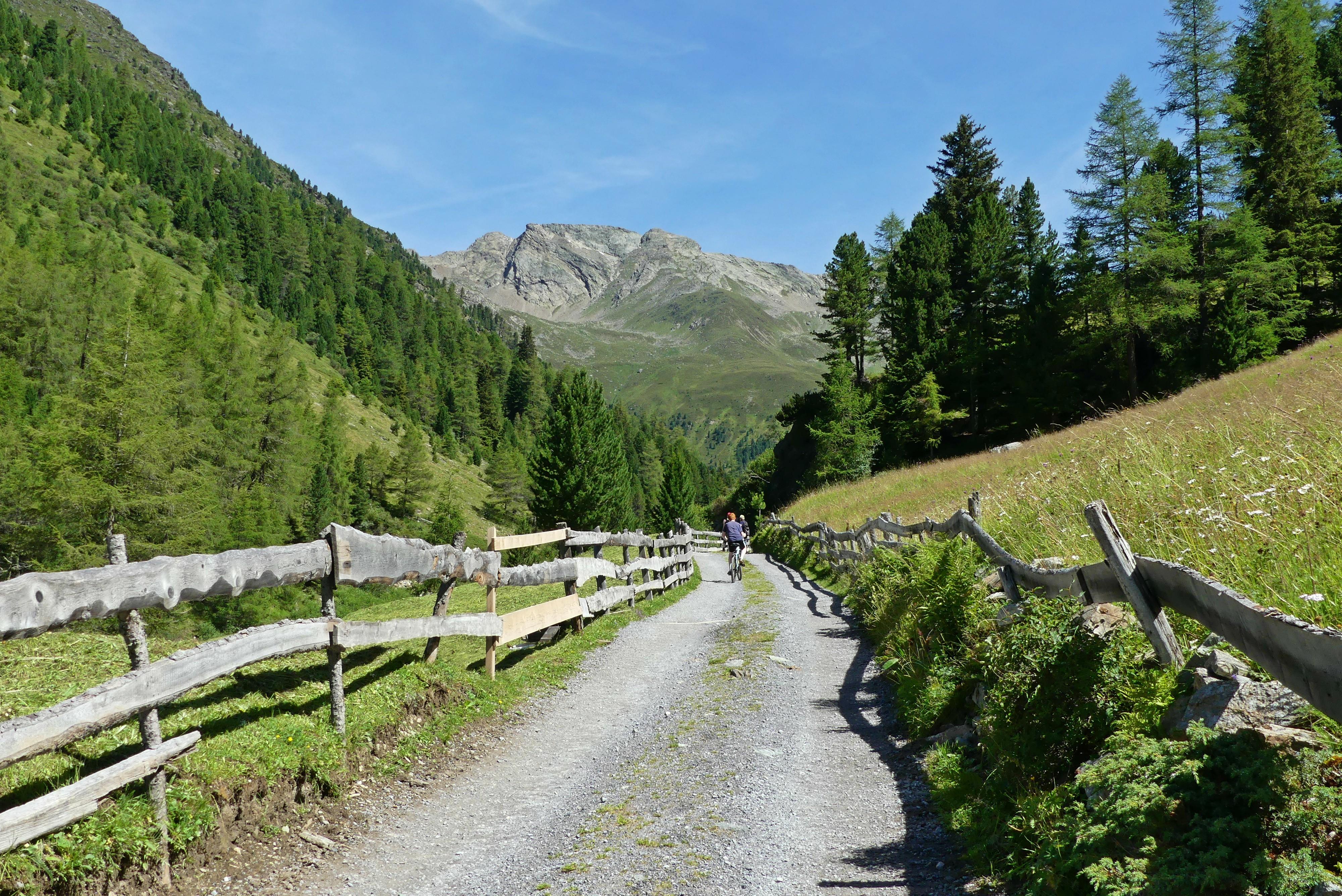 Wanderung zur Schweinfurter Hütte