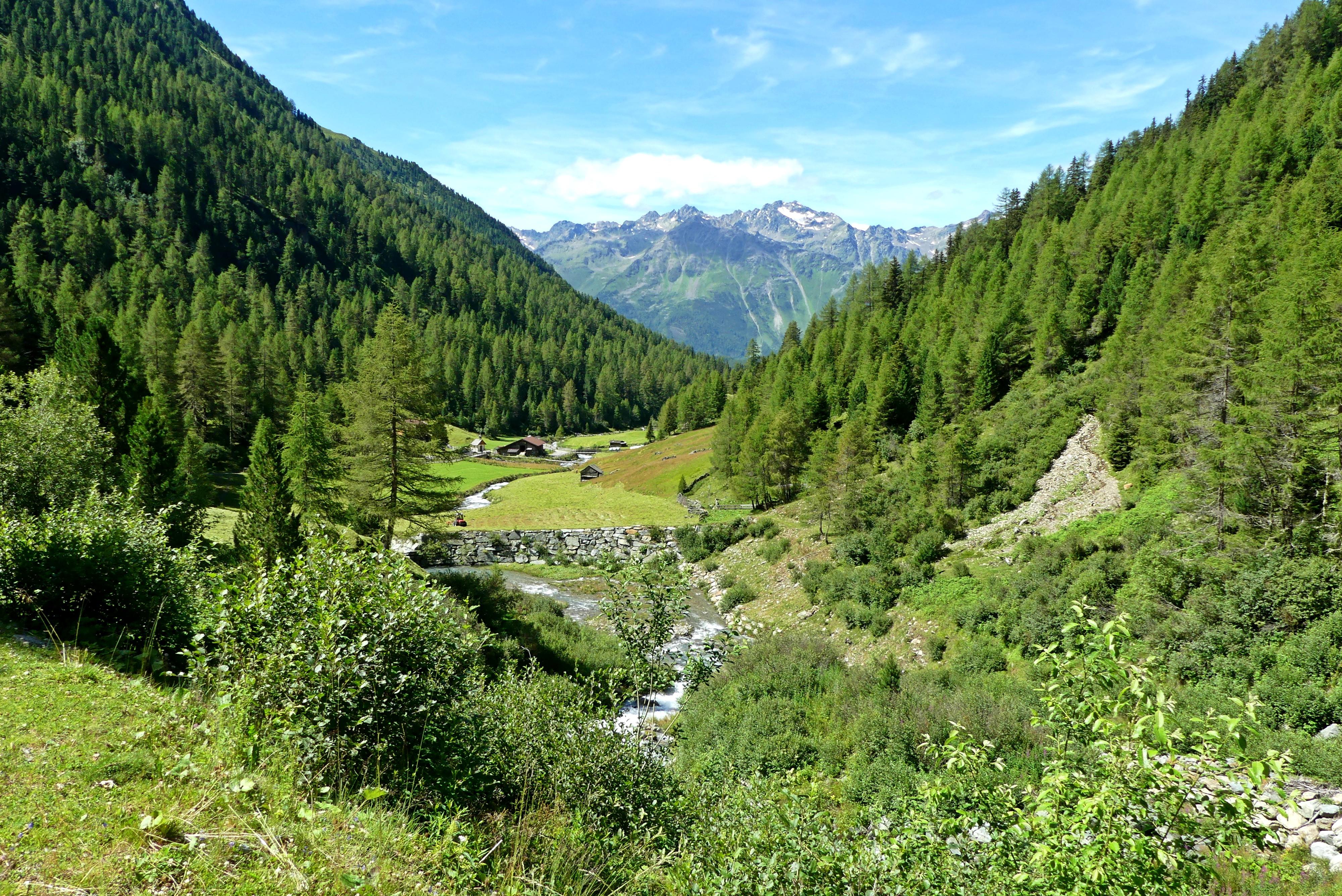 Berge Ötztaler Alpen