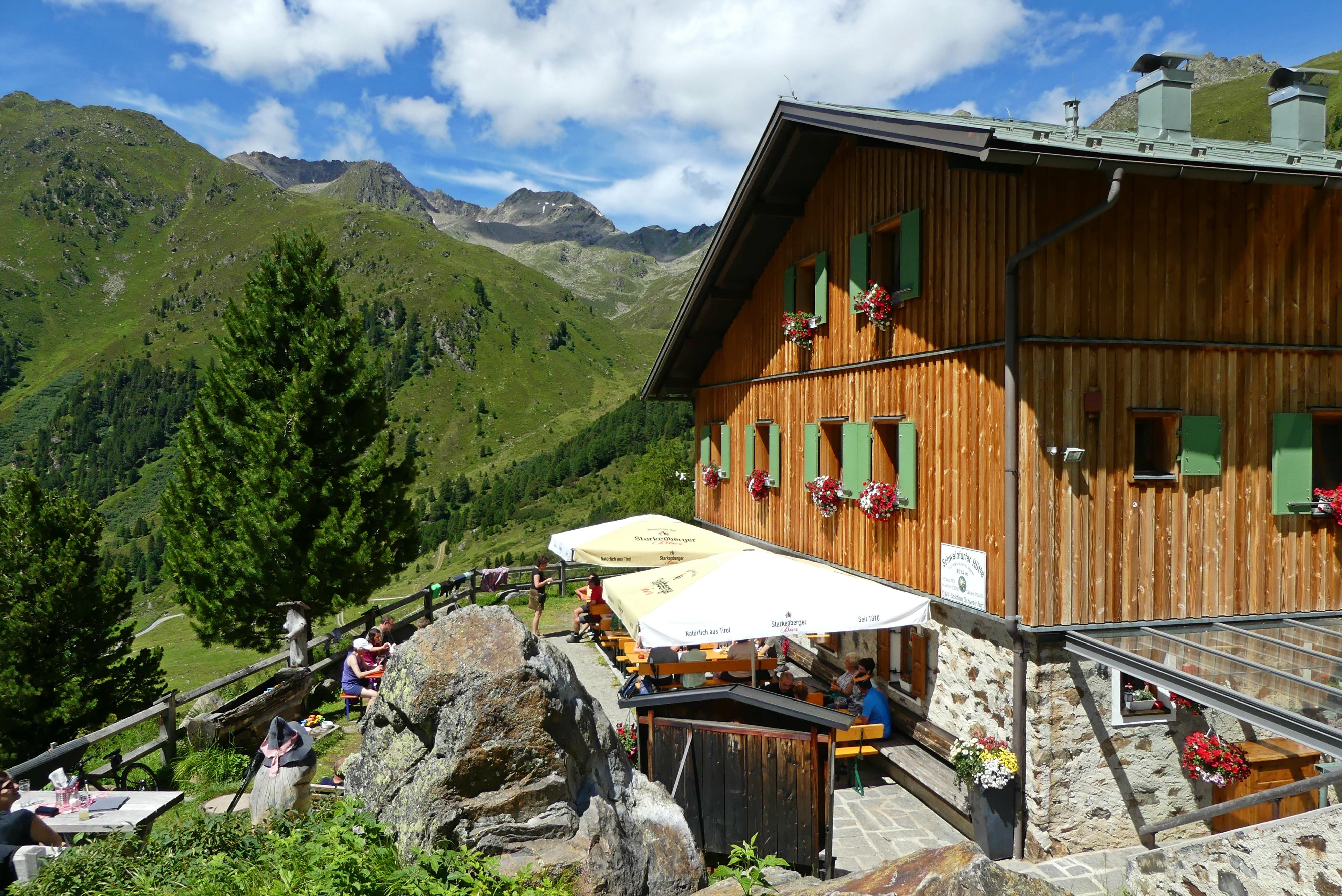 Schweinfurter Hütte im Ötztal