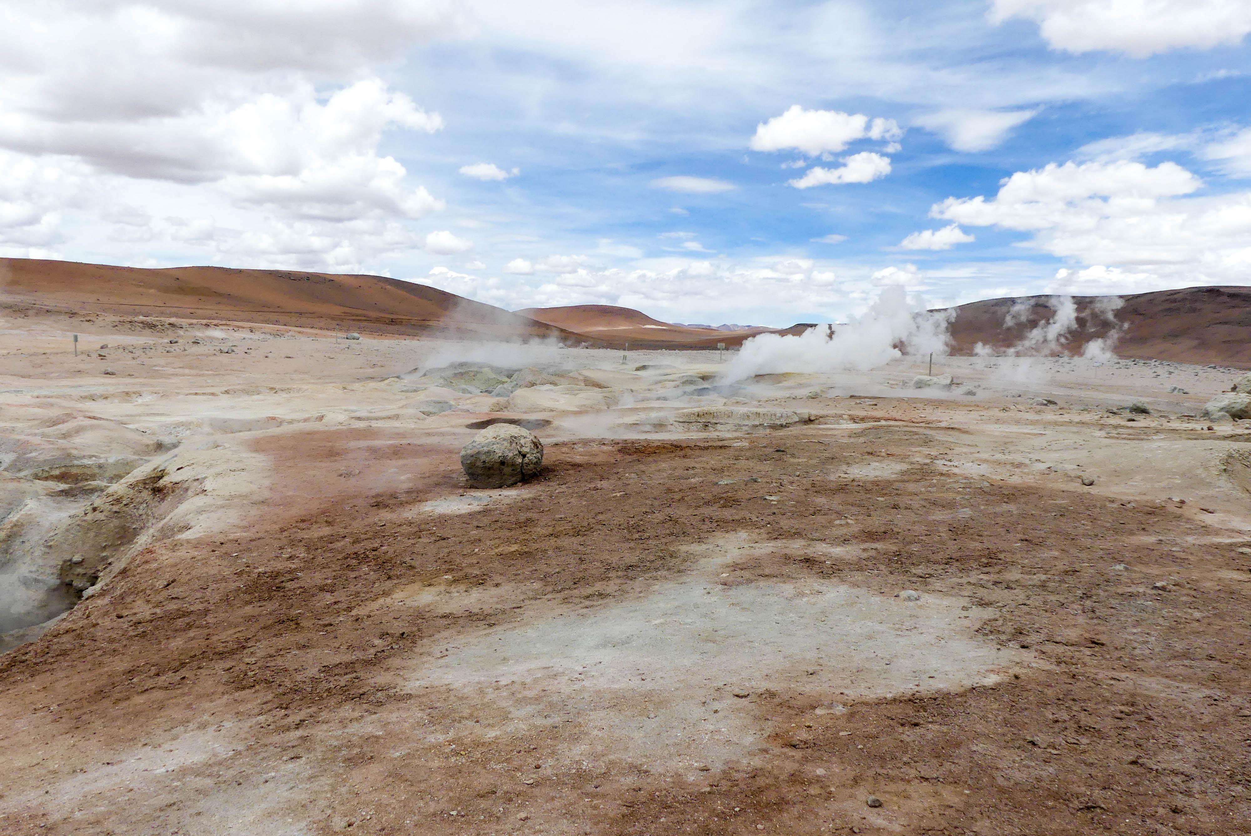 Bolivien Geysire
