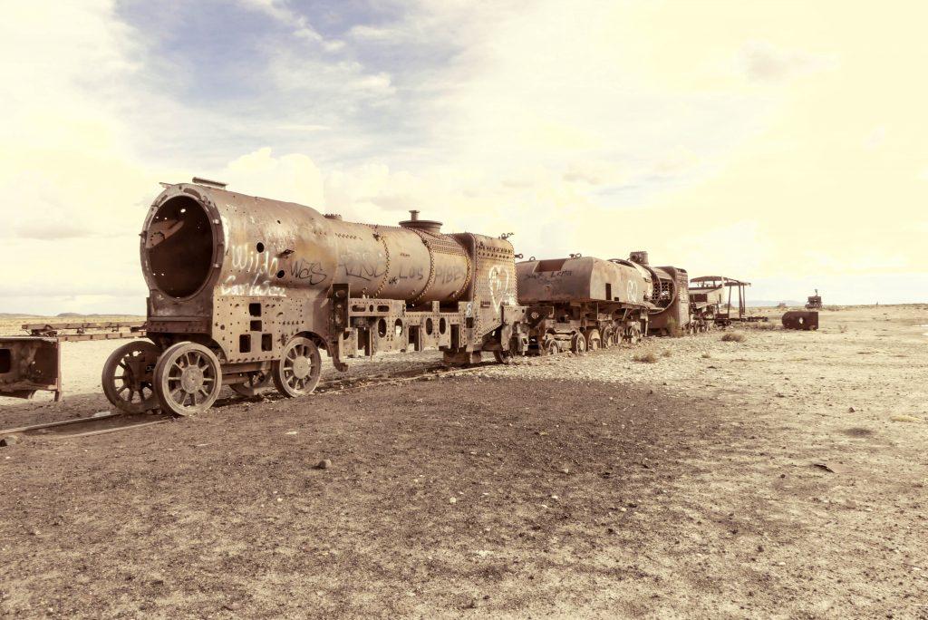 Eisenbahnfriedhof Uyuni