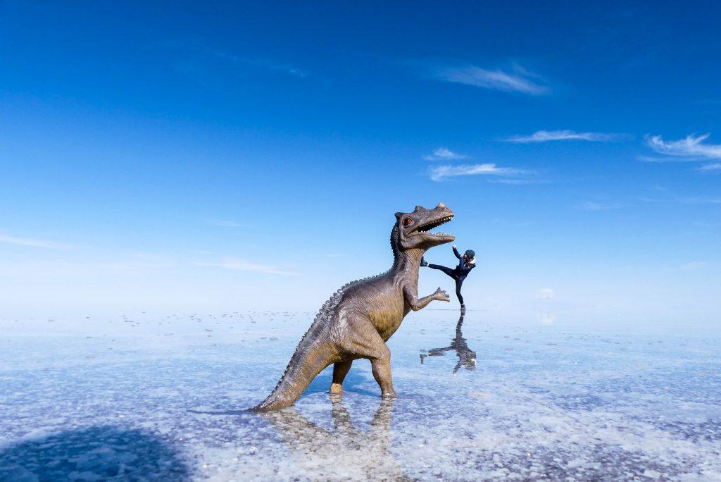 lustige Fotos Salar de Uyuni