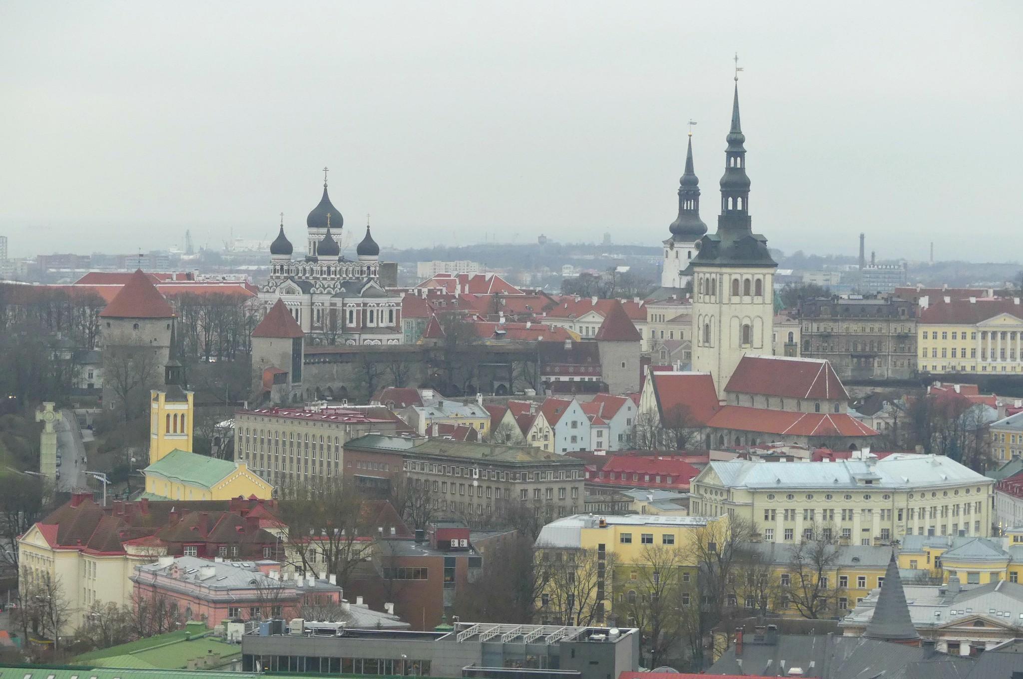 Ausblick über Tallinn
