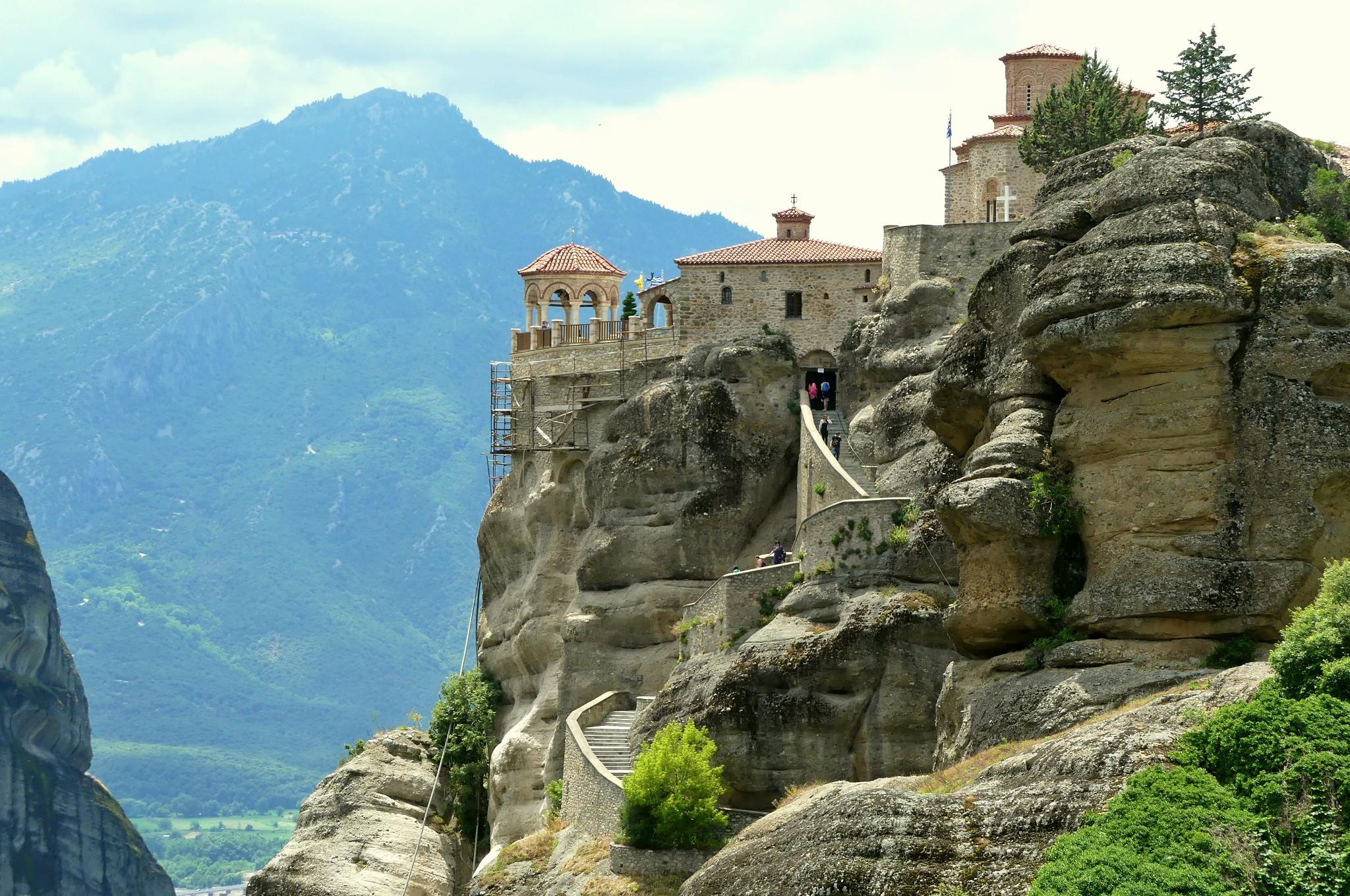 Kloster in Meteora