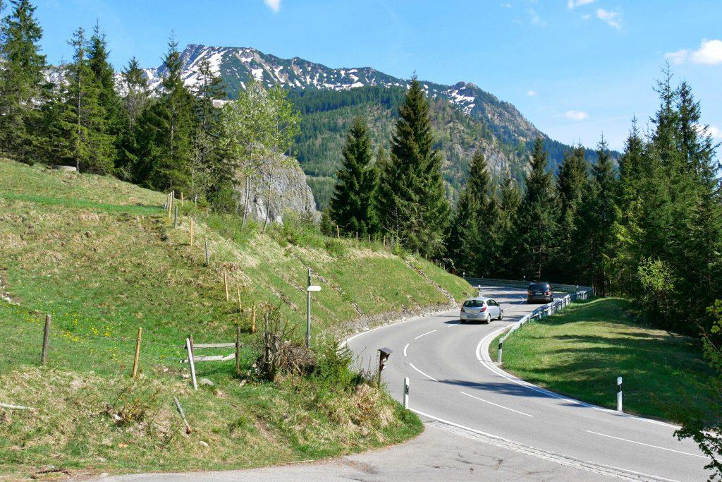 Deutsche Alpenstraße, Etappe 1