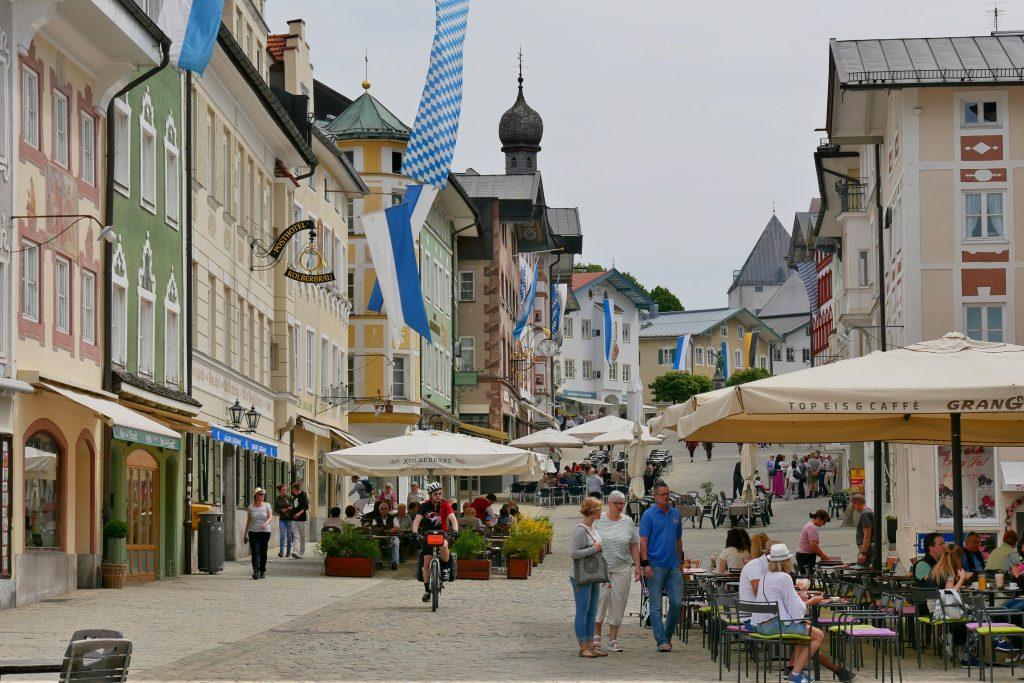 Marktstraße in Bad Tölz
