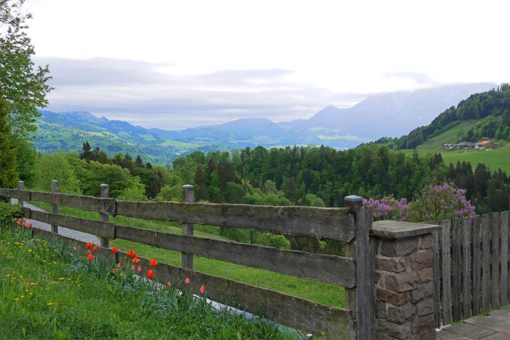 Ausblicke entlang der Deutschen Alpenstraße