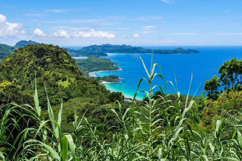 Aussicht über die Insel Mahé