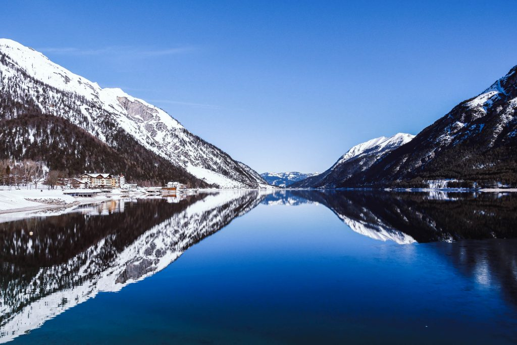 Spiegelungen auf dem Achensee