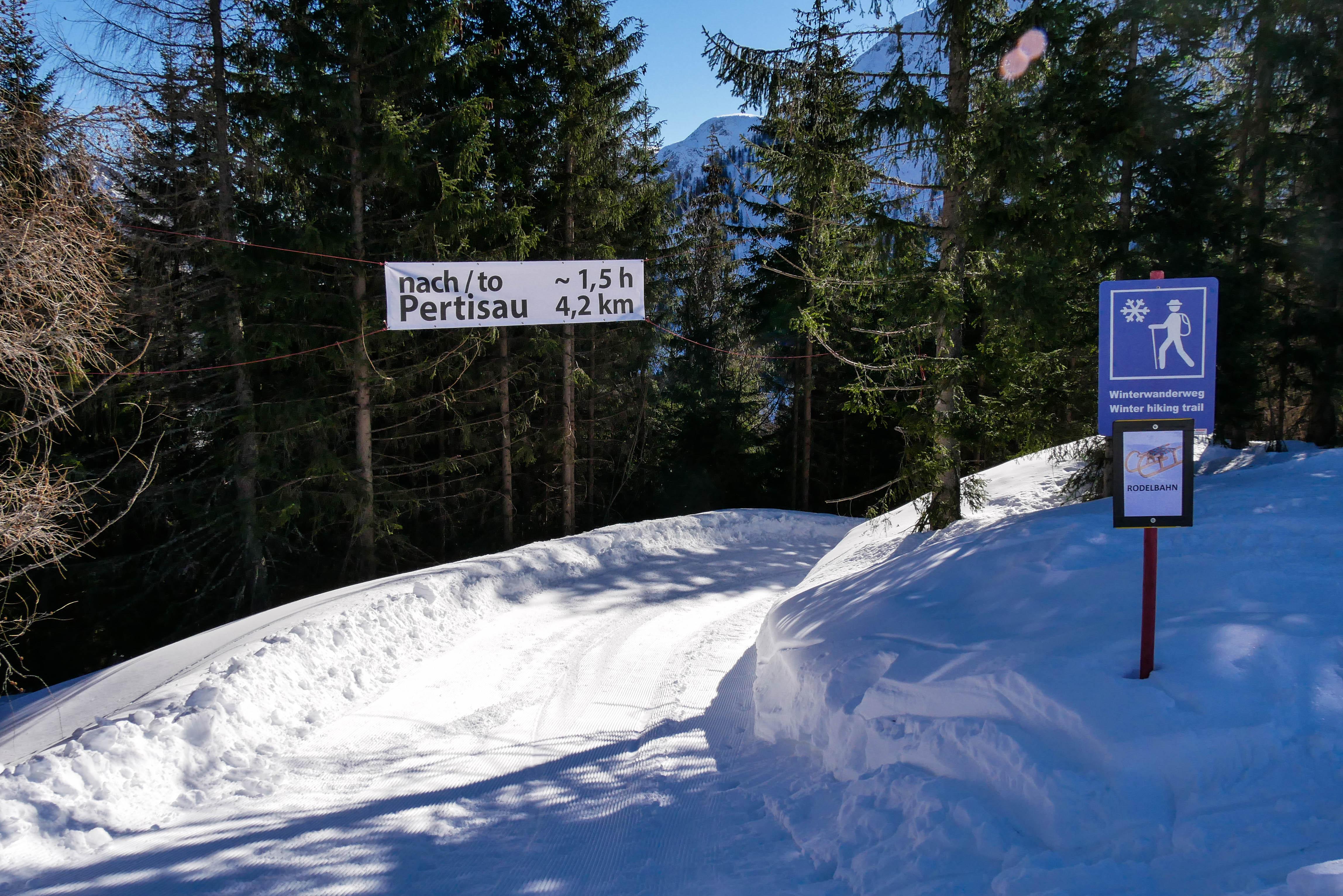 Winterwandern Zwölferkopfstraße