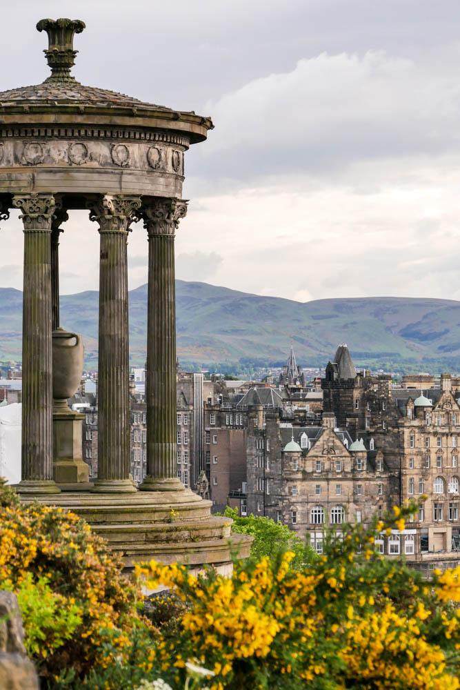 Aussicht Calton Hill Edinburgh