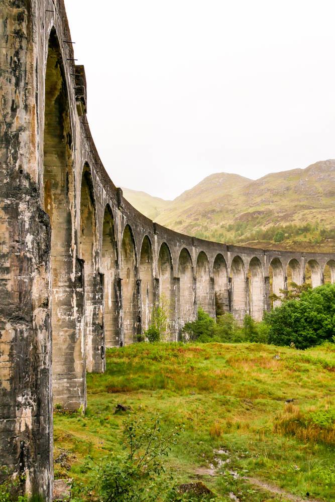 Glennfinnan Viadukt Schottland Harry Potter Brücke