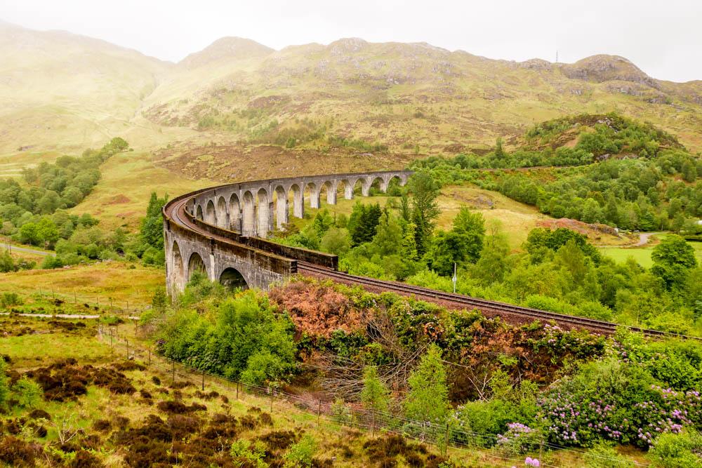 Glennfinnan Viadukt Schottland