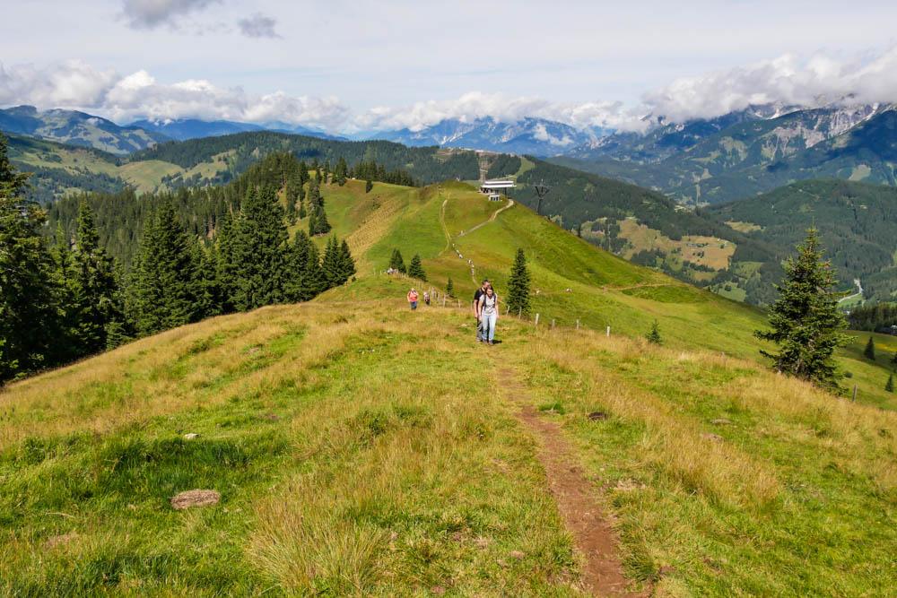 Wanderung zum Ahornstein am Hochkönig