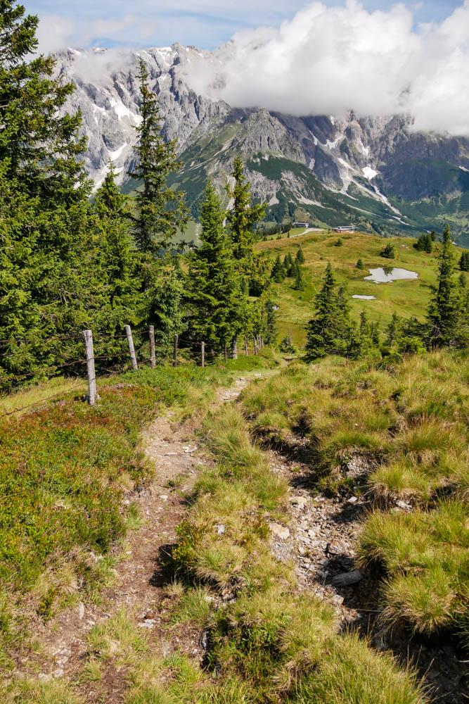 Wanderweg zur Tiergartenalm, Region Hochkönig