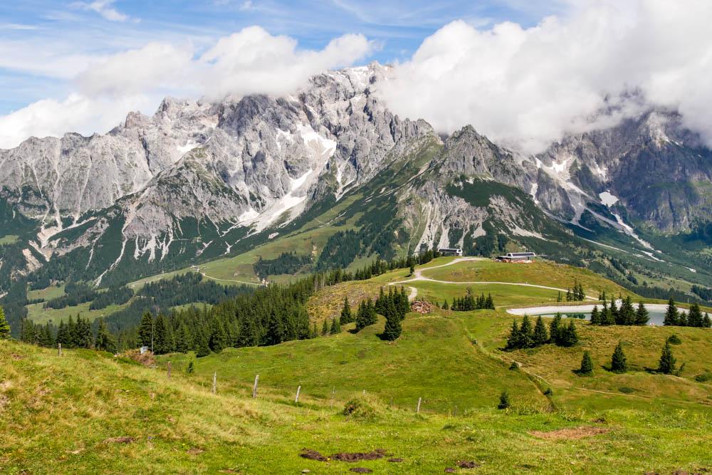 Ausblick Steinernes Meer und Hochkönig