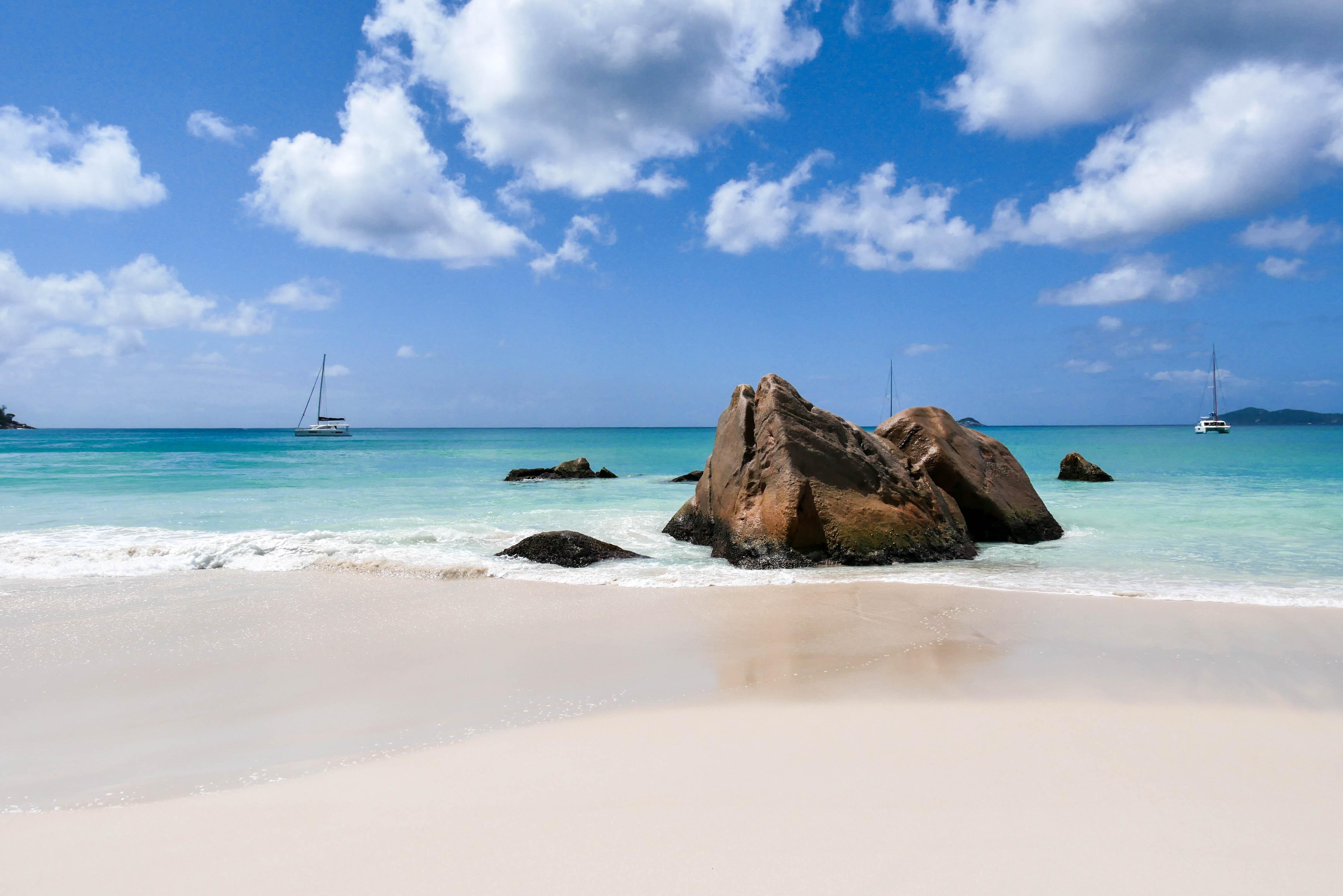 Anse Lazio, einer der schönsten Strände der Seychellen