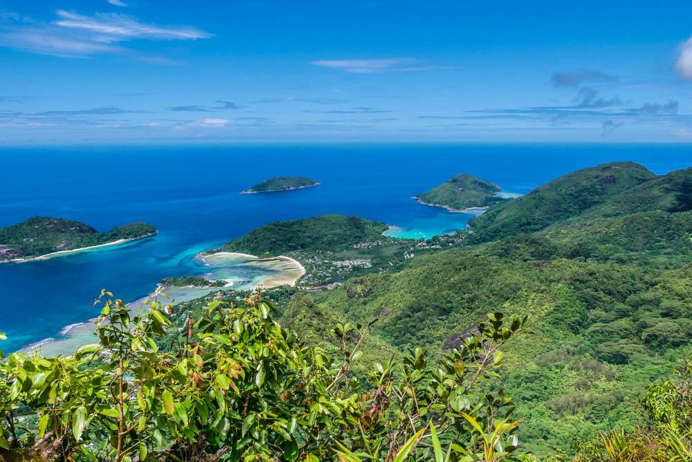 Aussicht Mahé, Seychellen