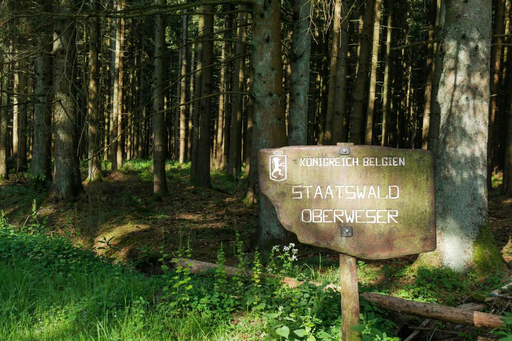Grenze zu Belgien Eifelsteig Etappe 2
