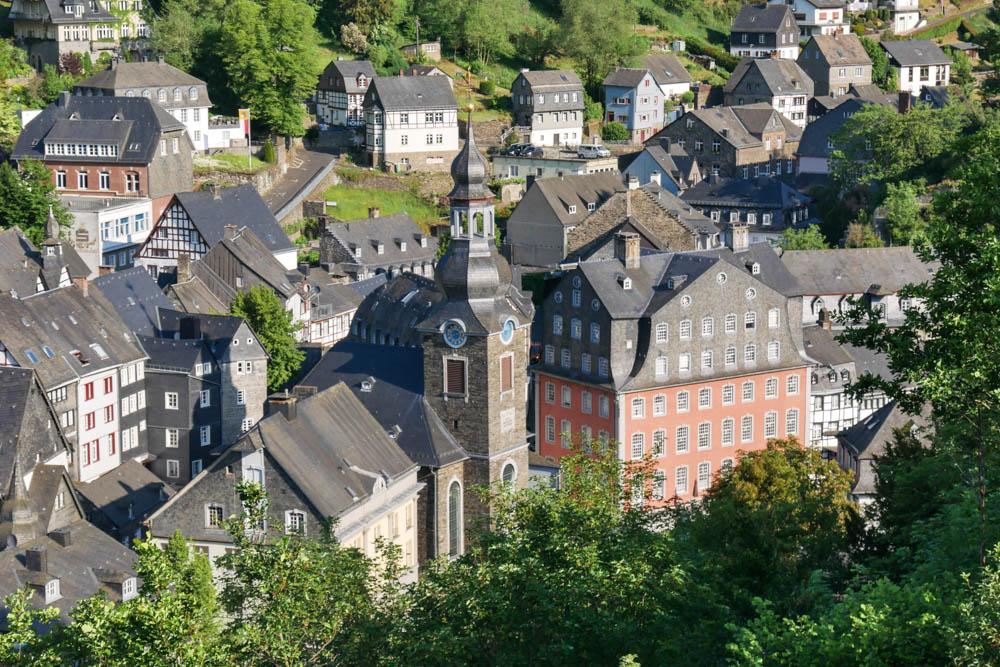 Ausblick über Monschau