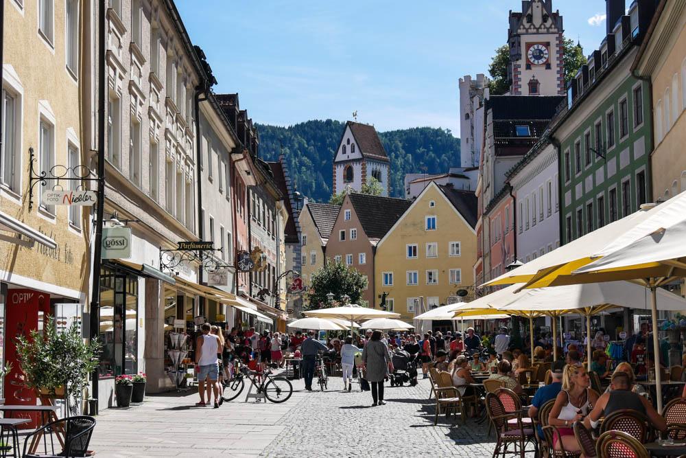 Füssen Altstadt