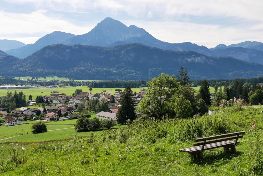 Panorama am Lechweg