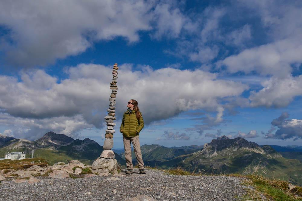 Rüfikopf in Lech am Arlberg