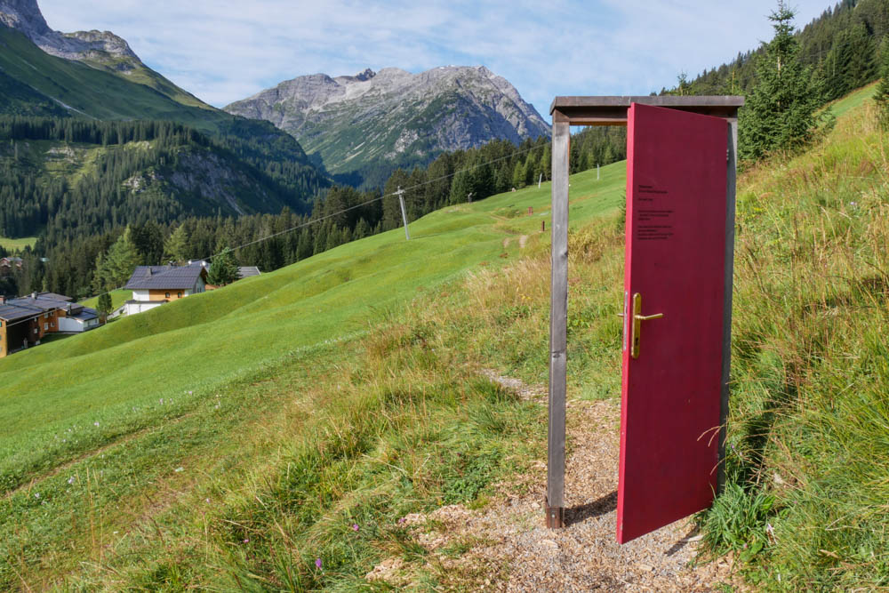 Tür am Lechweg
